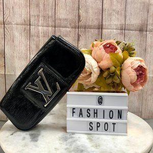 Louis Vuitton Black Epi Electric Sobe Clutch